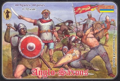 Strelets-R Anglo-Saxons 44 pièces 1/72