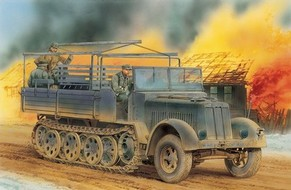 Maquette Sd. Kfz.7 8t Halftrack Late Production ~ Smart Kit