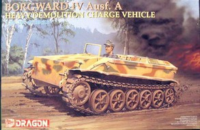 Maquette véhicule BORGWARD IV Ausf. A HEAVY DEMOLITION CHARGE VEHICLE