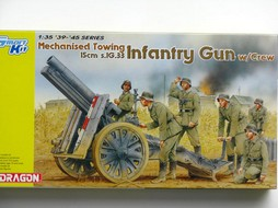 Maquette  Mechanised Towing 15cm s.IG.33 Infantry Gun