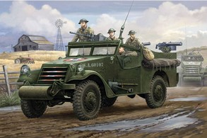 HOBBY BOSS 1/35 M3a1 White Scout Car