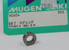 MUGEN H0604 ROULEMENT INT DIFF